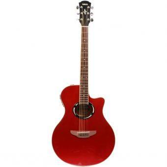 Yamaha Gitar Akustik Elektrik APX 500II - Merah Metalik