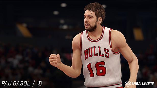 NBA Live 16 Pau Gasol