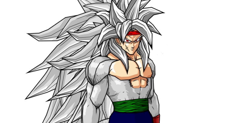 DRAGON BALL Z WALLPAPERS: Bardock super saiyan 5