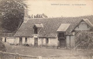 La cheminée ronde près du château de Troussay - Cheverny