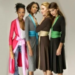 Kara Janx kimono dress from Project Runway