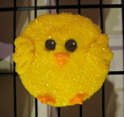 Easter Chick Cupcakes - Close-Up View 1