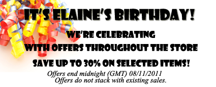 Birthday Offers!