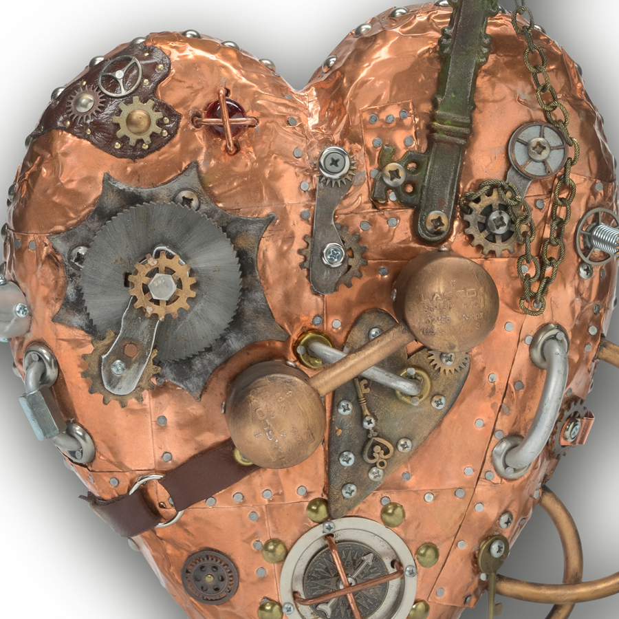 Metal Heart Wall Art The Art Of Upcycling Metal Wall Art Inventive Recycle Upcycle