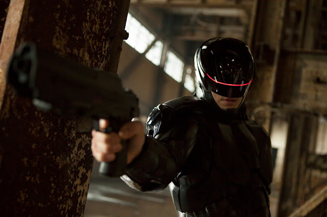 RoboCop 2014 remake still - Joel Kinnaman as Alex Murphy