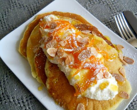 ... pumpkin chocolate and now the mostwonderful orange ricotta pancakes