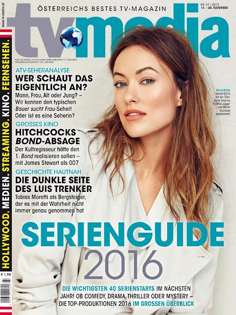 Actress, Model @ Olivia Wilde - TVMedia November 2015