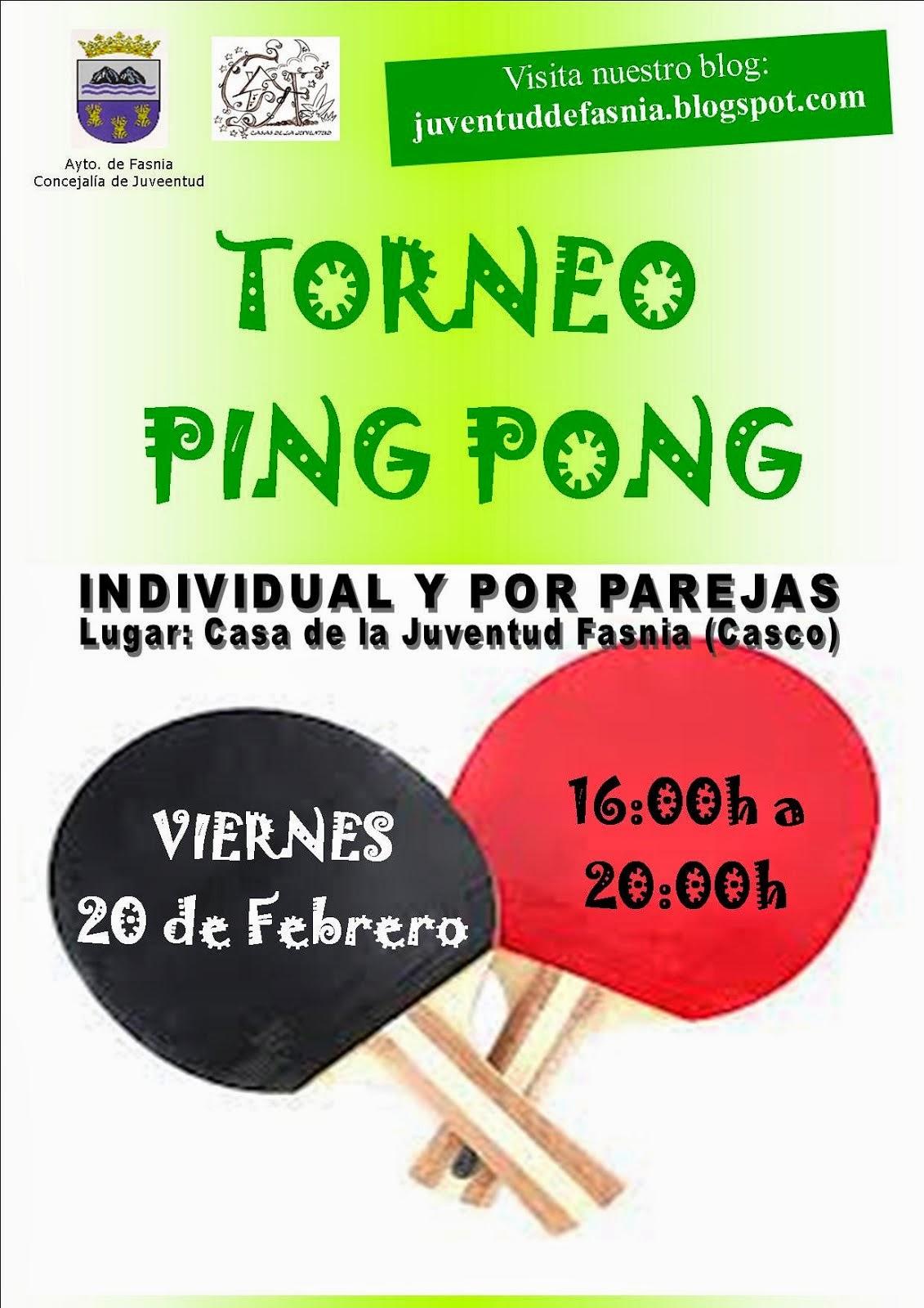 TORNEO DE PING PONG 2015