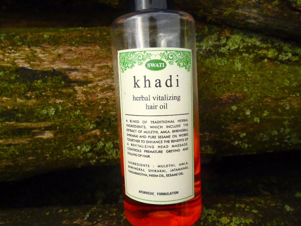 Khadi | Olejek stymulujący wzrost włosów który składem odpowiada olejowi sezamowemu (?)