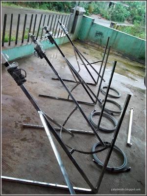Jual antena full stanless steel murah bergaransi