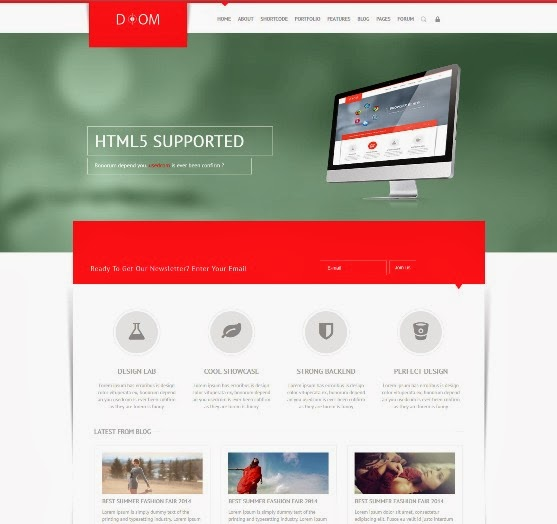 Doom Multipurpose Premium Joomla Template
