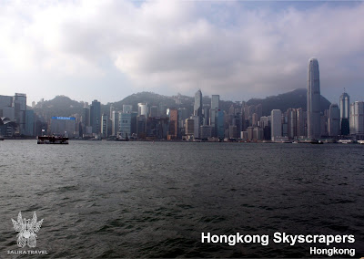 Paket Tour Honeymoon 4H3M Hongkong - Hongkong Skyscrapers
