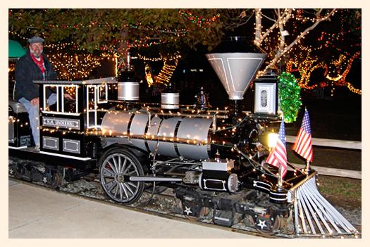 Irvine Park Christmas Train