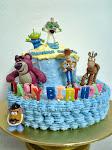 toys story birthday cake