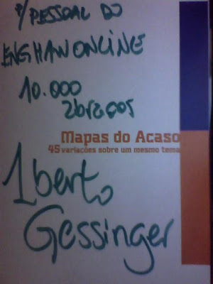 Mapas do Acaso, Capa