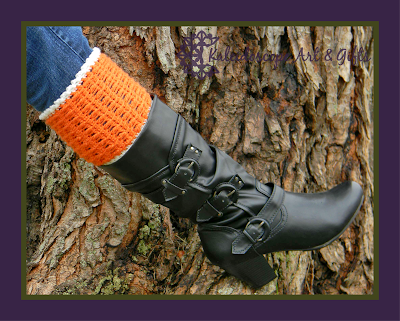 Adelyn Boot Cuffs FREE crochet pattern by Kaleidoscope Art&Gifts for Cre8tion Crochet
