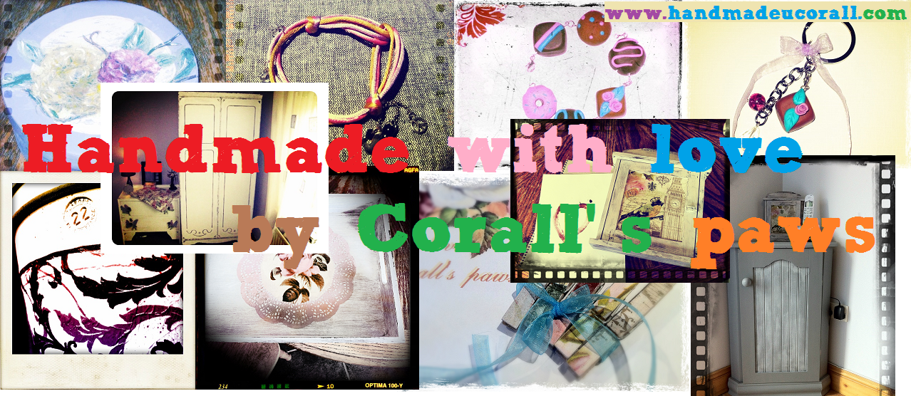 Handmade with love by Corall's paws