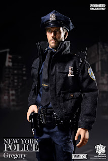 """ZC World 1/6 scale NYPD """"Gregory"""" figure"""