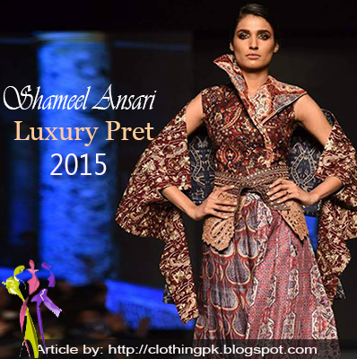 Shameel Ansari Summer Luxury Pret Collection TPFW 2015
