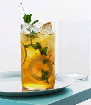 Bit Ash: Iced Ginger Lemon Tea
