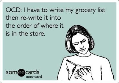grocery shopping ocd ecard