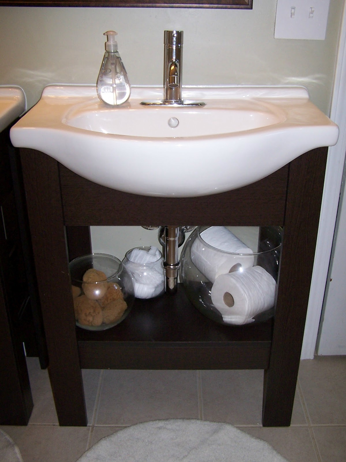 Bathroom Sink Outlet : ... sinks, install new toilet, replace outlet covers and bathroom fixtures