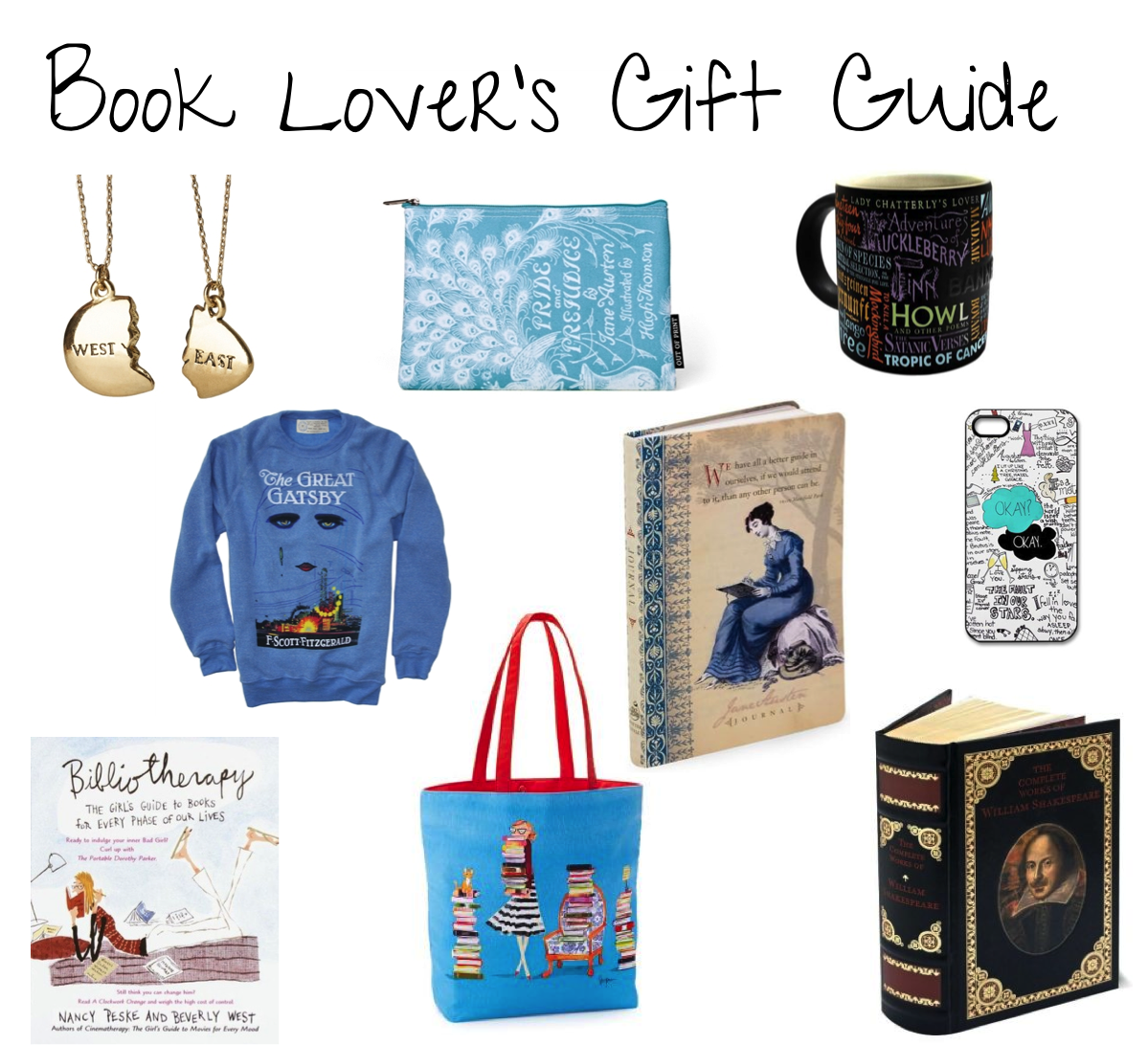 Peace Love Books Book Lover 39 S Gift Guide