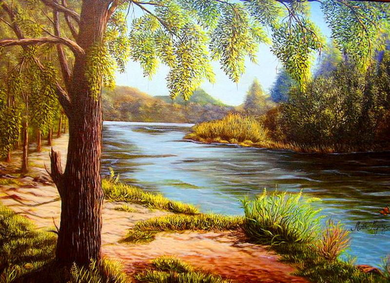 cuadros de paisajes pinturas de paisajes al oleo cuadros paisajes