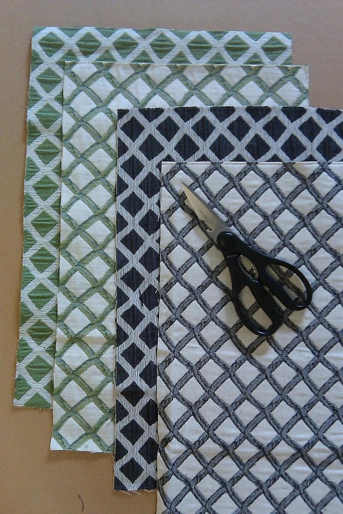 focal point styling diy a framed fabric focal point. Black Bedroom Furniture Sets. Home Design Ideas