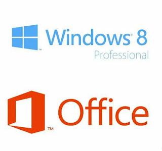 Microsoft Windows 8 Pro VL Inc. Office 2013