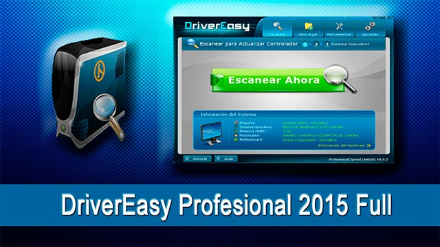 Driver Easy Professional 2016 descarga gratis serial full