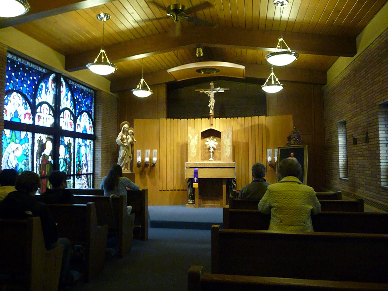 Perpetual Eucharistic Adoration Chapel, Visitation Parish, Elmhurst, IL