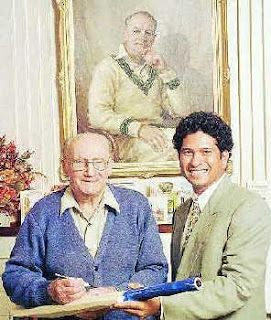 Test Cricket Legends Don Bradman and Sachin Tendulkar