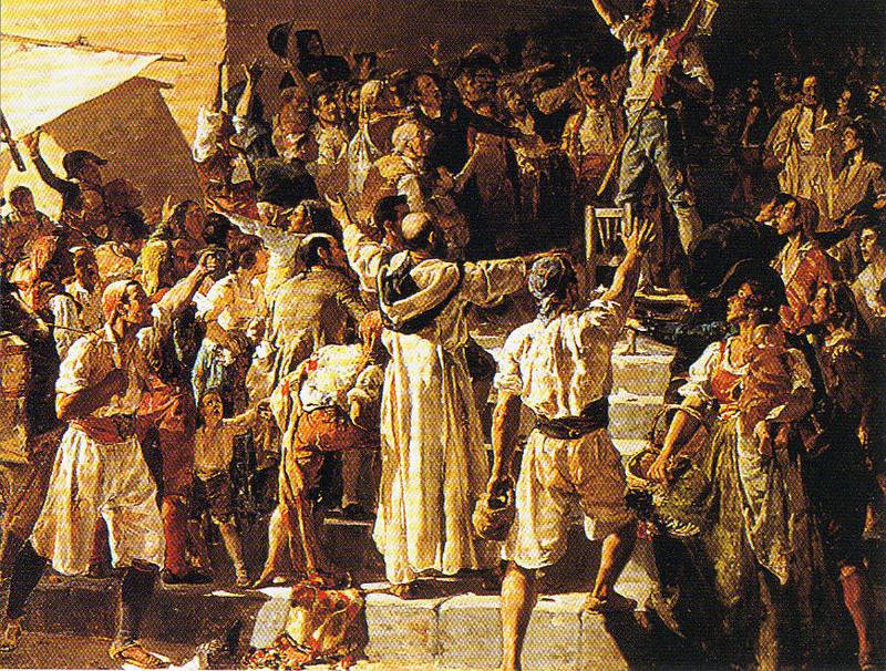 El dos de mayo joaquin sorolla pinturas de los siglos - La nueva fe de valencia ...