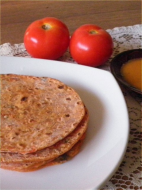 Tomato Roti