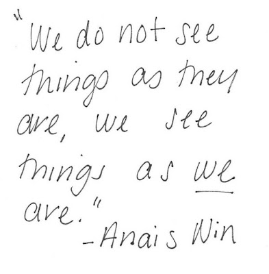 Anais Nin, quote, sundae thought