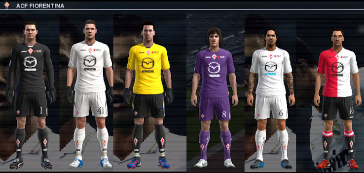 PES 2012 Fiorentina 12 13 Kit Set by VinVanDam13
