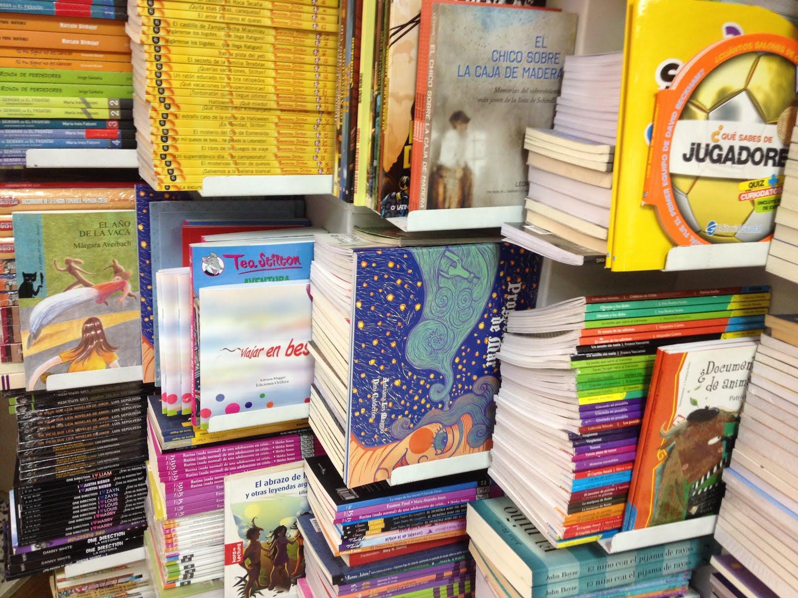 Los libros Orilleros, esperan...