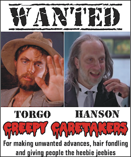 Movie characters Torgo (Manos: The Hands of Fate) & Hanson (Scary Movie 2)