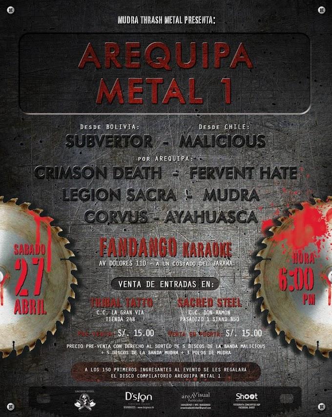 Arequipa Metal I (27 de abril)