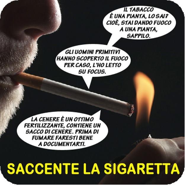 Shilipoti Saccente La Sigaretta