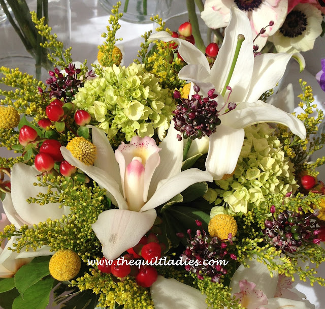 Spring Flowers in White by Beth Ann Strub