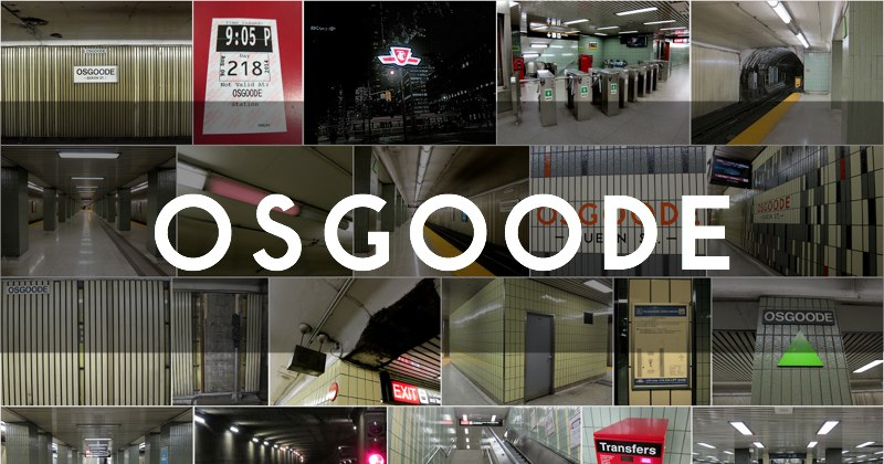 Osgoode station photo gallery