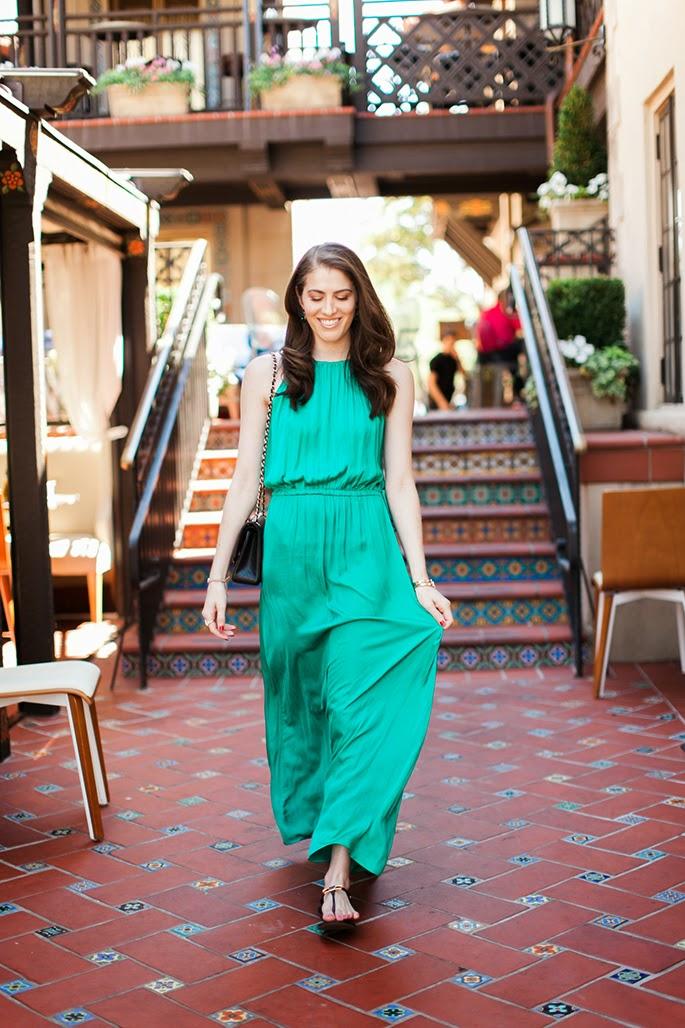 LOFT Tasseled Halter Dress Bistro 31 Highland Park Village Dallas