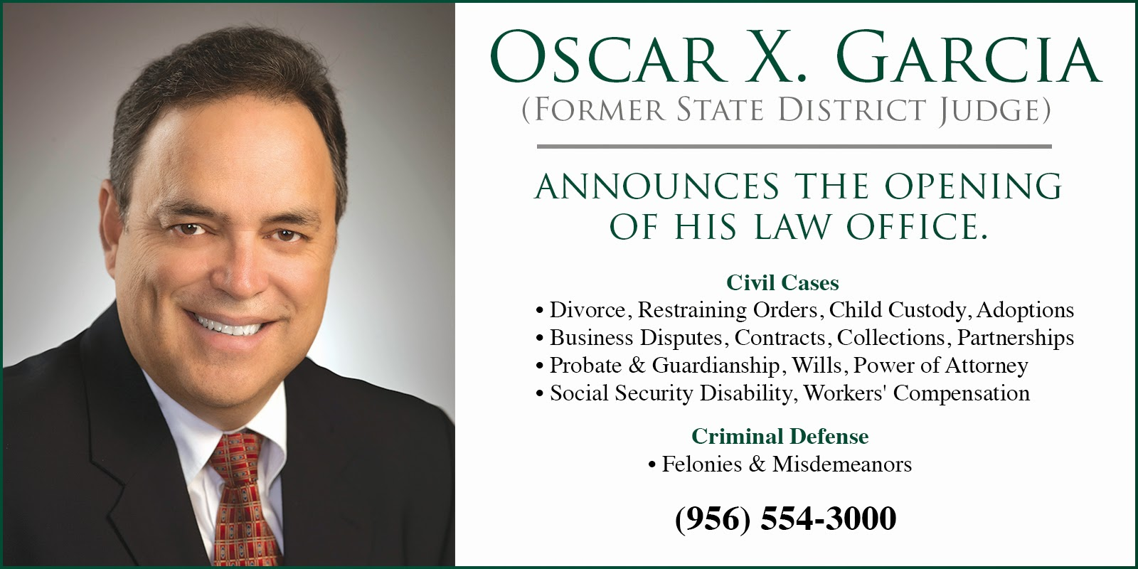 OSCAR X. GARCIA LAW FIRM