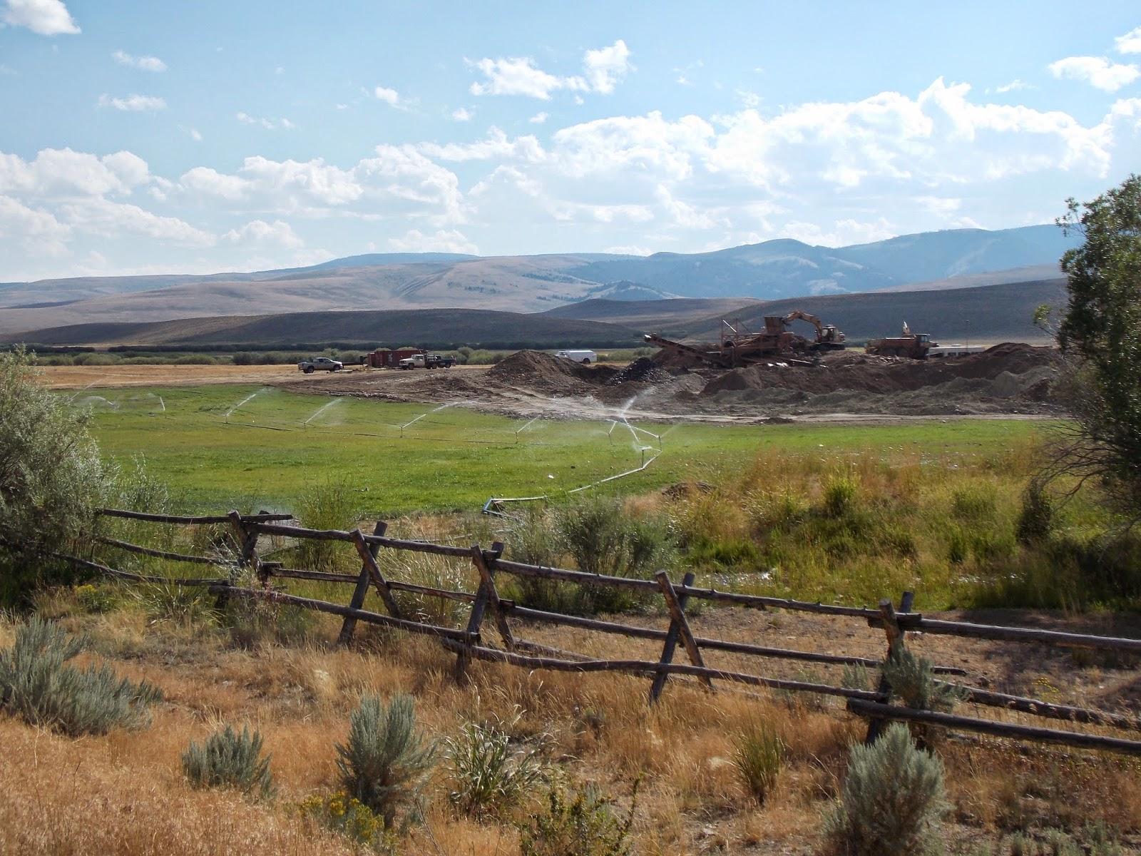 Mine site reclamation