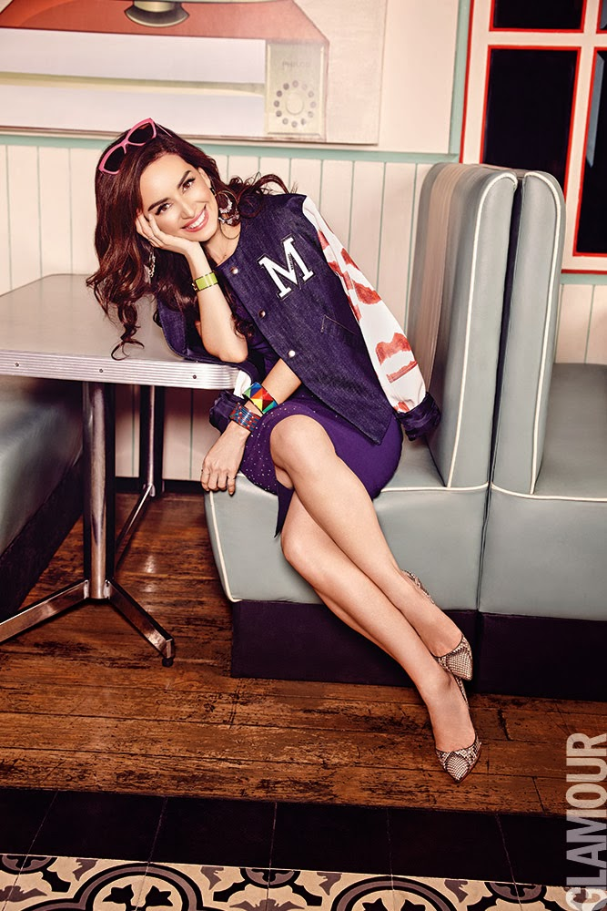 Ana de la Reguera HQ Pictures Glamour Mexico Magazine Photoshoot March 2014