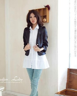 Short Jacket Long Shirt - JacketIn