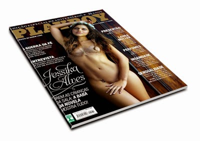 Revista Playboy – Jéssika Alves   Agosto de 2014