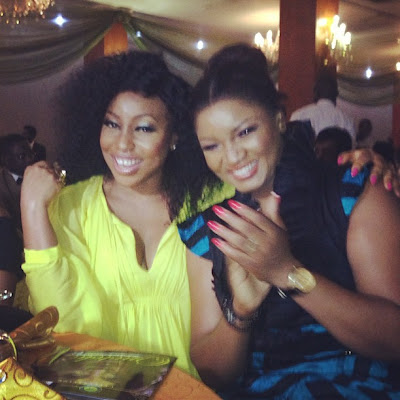Omotola & Rita Dominic @ Nollywood celebrates Omotola event
